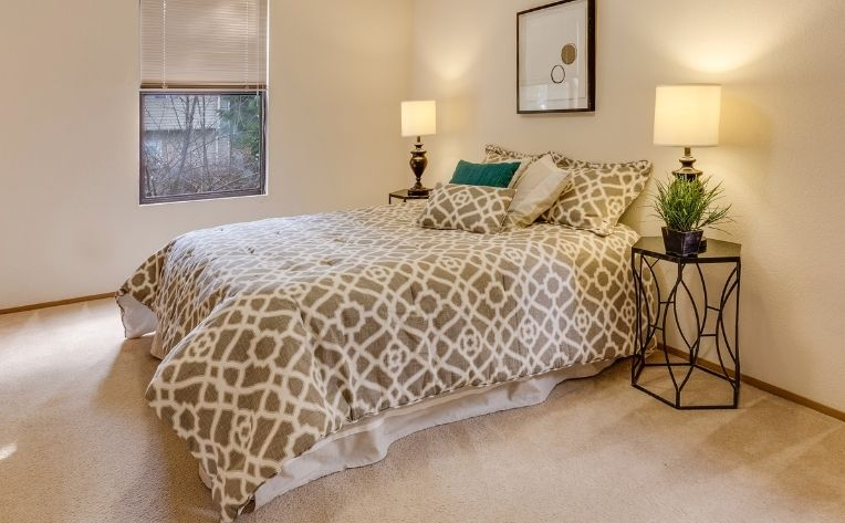 Carpet in Bedroom Flooring Example